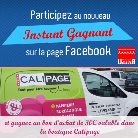 Jeu concours facebook calipage copie